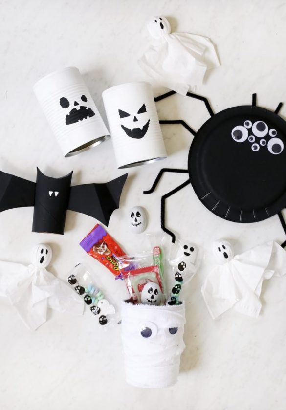 5 Easy Halloween Crafts for Kids