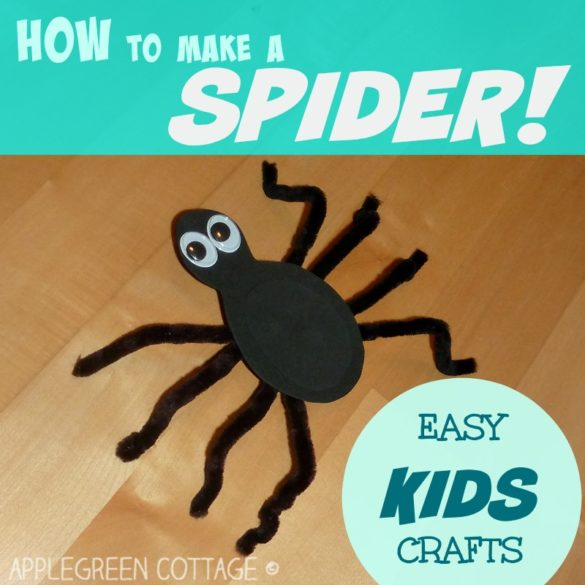 How To Make Spiders Out Of Pipe Cleaners