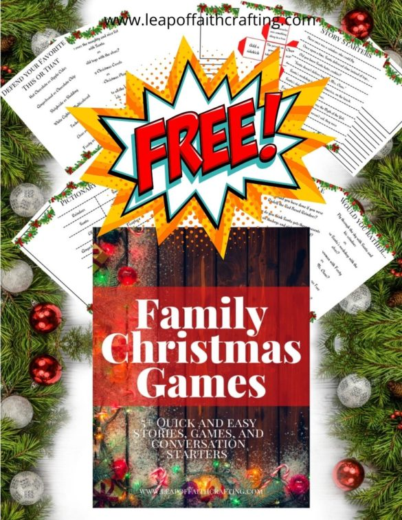 Christmas Printables Games: 40 FREE Christmas Games to Print & Play!