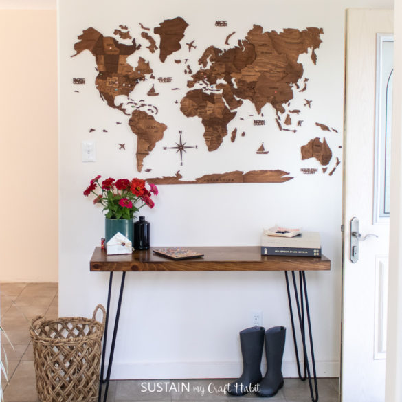 5 Tips for Fool-Proof Enjoy the Wood 3D World Map Installation