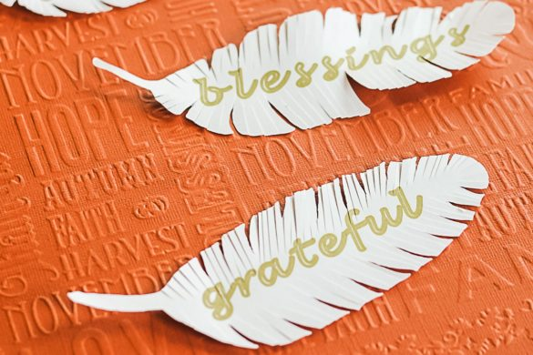 How to Make Paper Feathers with a Cricut